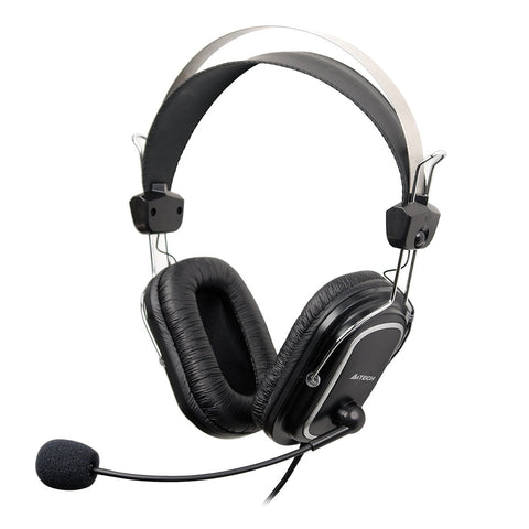 A4Tech Quad Cushioned Headset With Microphone