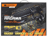 Canyon Argama Headset/Keyboard/Mouse/Mouse Mat Camo Gaming Set