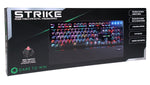 Game Max Strike Mechanical RGB Keyboard With Outemu Red Switch And Palm Rest