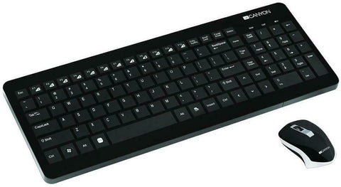 Canyon Stylish Wireless Keyboard & Mouse Combo Set