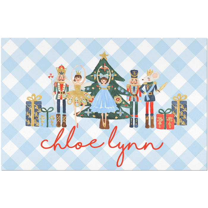 Nutcracker Placemat (Girl)