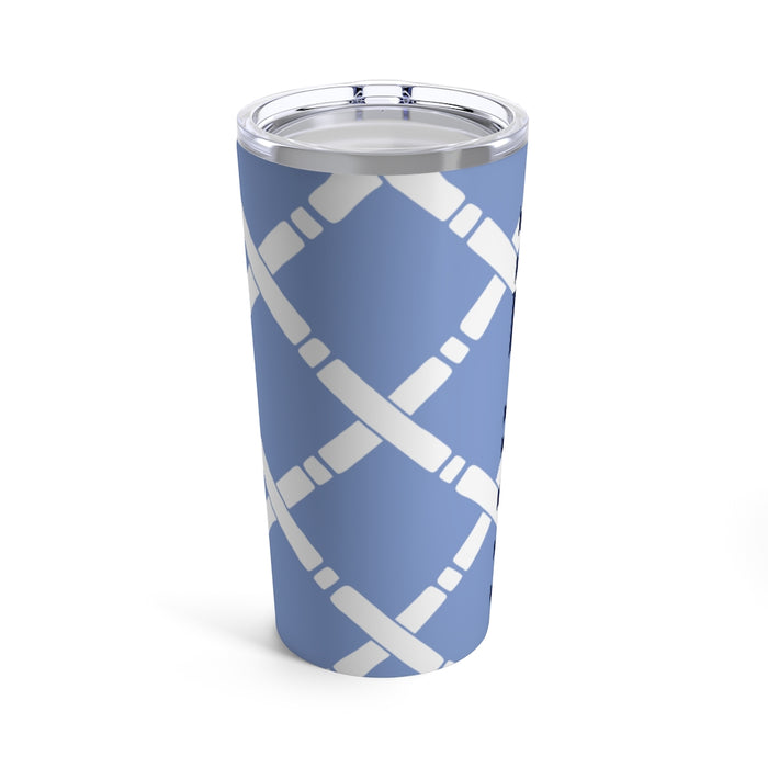 French Blue Bamboo Tumbler
