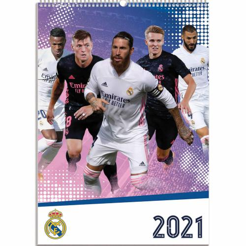 Real Madrid FC Kalender 2021