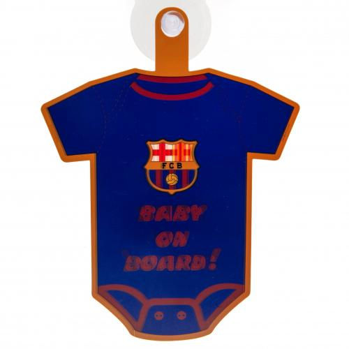 FC Barcelona Baby On Board sugekop