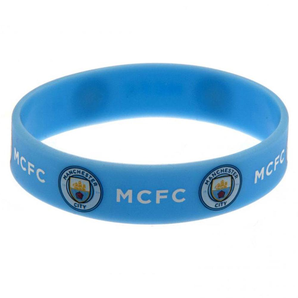 Manchester City FC Silicone armbånd