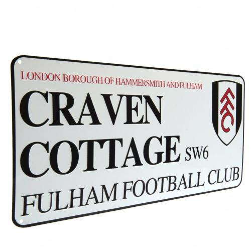 Fulham FC Craven Cottage skilt