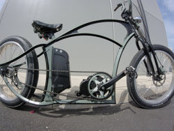 Electric bike conversion kits and gearing