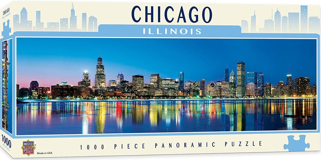 Chicago Skyline Panoramic 1000 pc. Puzzle