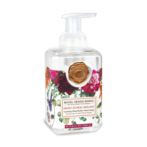 Sweet Floral Melody Foaming Hand Soap 17.8 fl. oz. NEW!