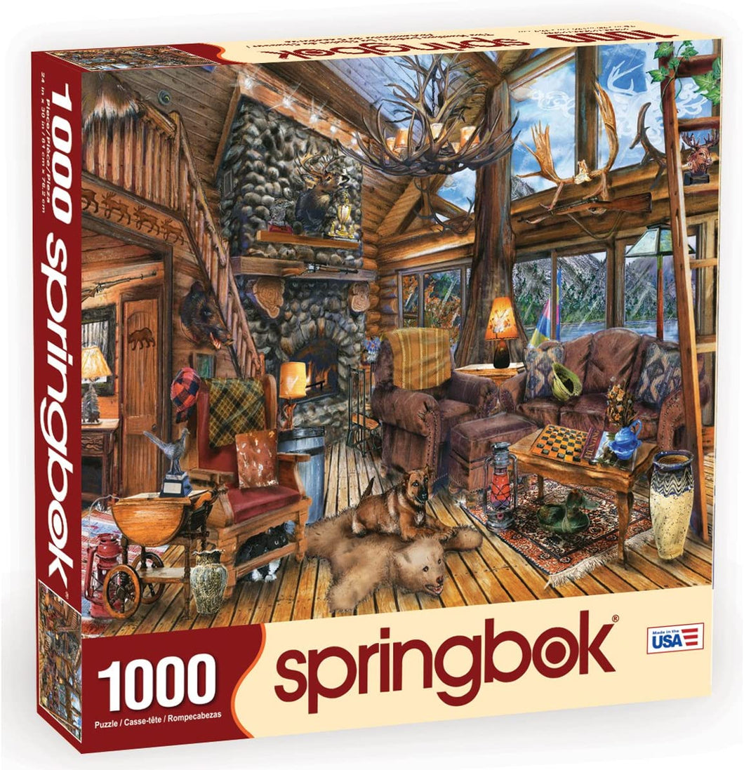 The Hunting Lodge 1000 pc. Puzzle