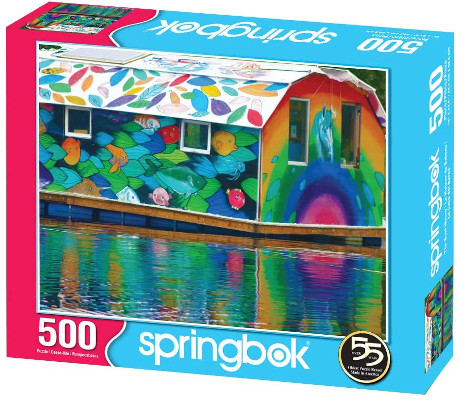 The Boat House 500 pc. Puzzle