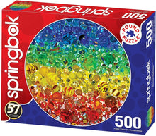Load image into Gallery viewer, Illuminated Marbles 500 pc. Puzzle New!