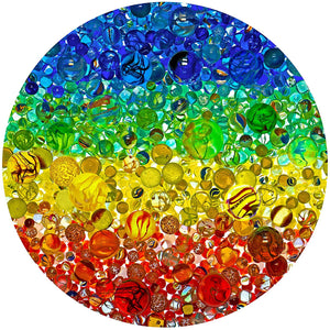 Illuminated Marbles 500 pc. Puzzle New!