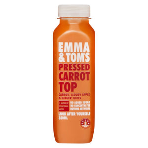 Emma & Toms Carrot Top Juice (10x 350mL)