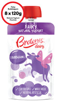 Load image into Gallery viewer, Brownes Dairy Fairy Bubblegum Natural Yoghurt 8 x 120g