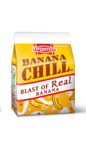 Brownes Banana CHILL 300mL