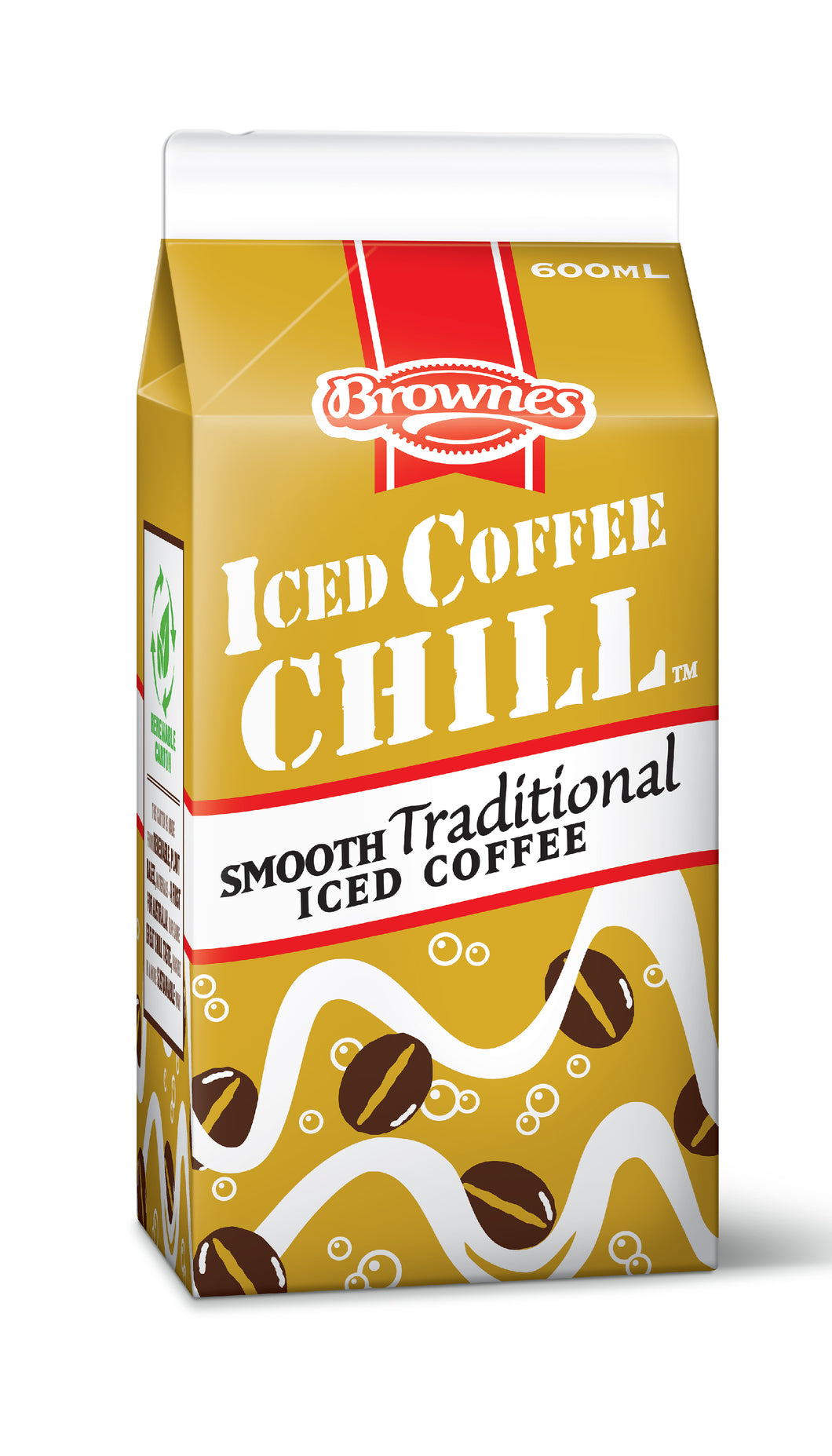 Brownes Iced Coffee CHILL 600mL