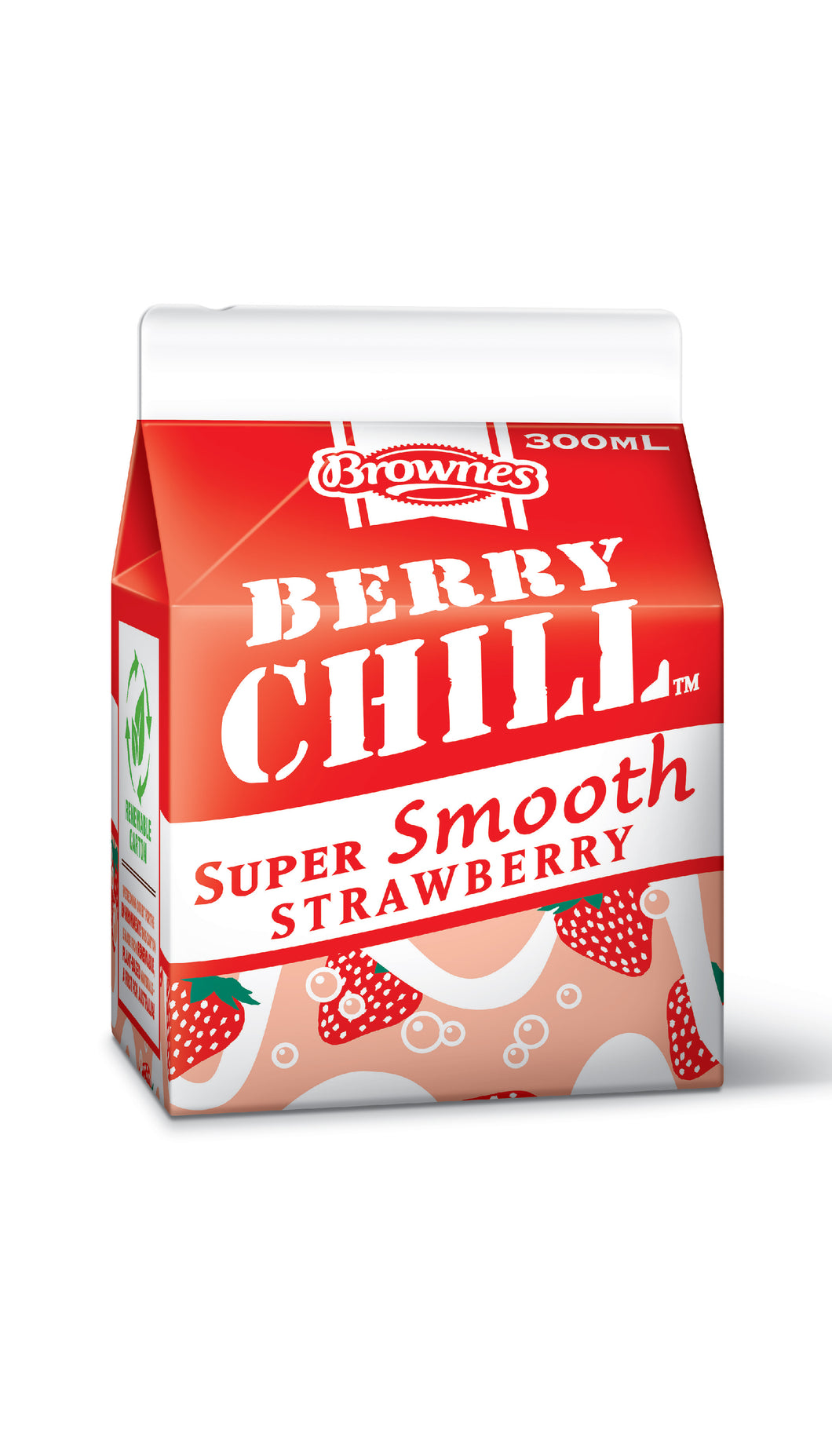 Brownes Strawberry CHILL 300mL