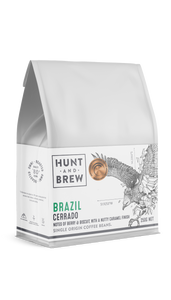 Hunt and Brew | Brazil Single Origin Coffee Beans 250g
