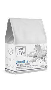 Hunt and Brew | Colombia Single Origin Coffee Beans 250g
