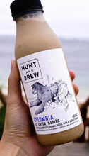 Load image into Gallery viewer, Hunt and Brew | Colombia Single Origin Cold Brew Coffee 400ML