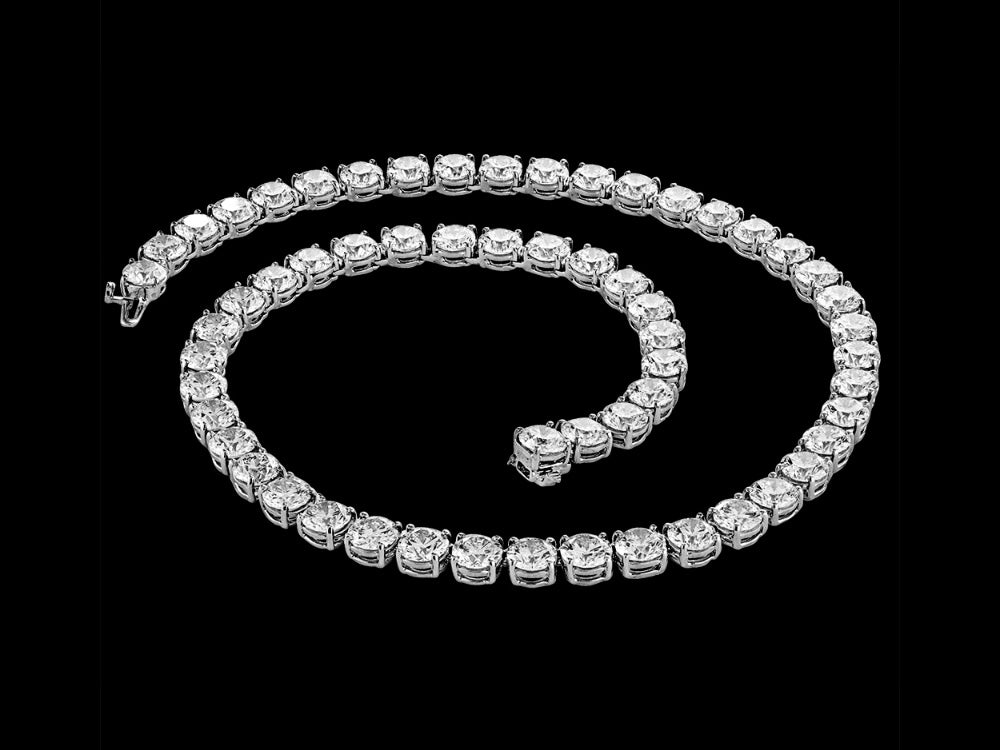 Diamond Necklace – One Carat Each