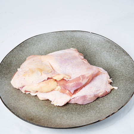 Frozen Chicken Boneless Leg Skin On