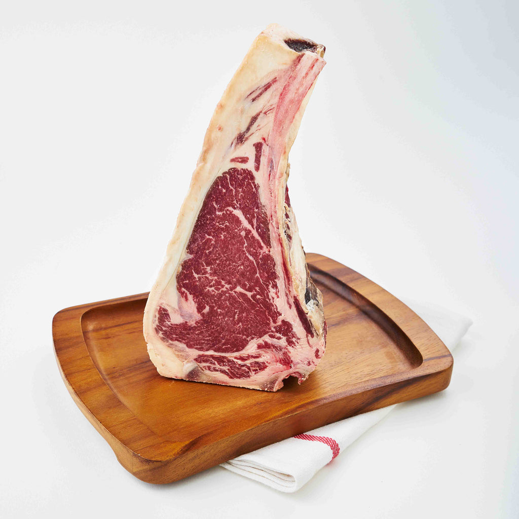 45 Days Dry Aged Barley Fed Bone-in Striploin MS3+ Currently Sold Out (Available on 11th May)