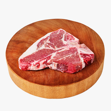 30 Days Dry Aged Grassfed Porterhouse Steak Currently Sold Out (Available on 26th April)