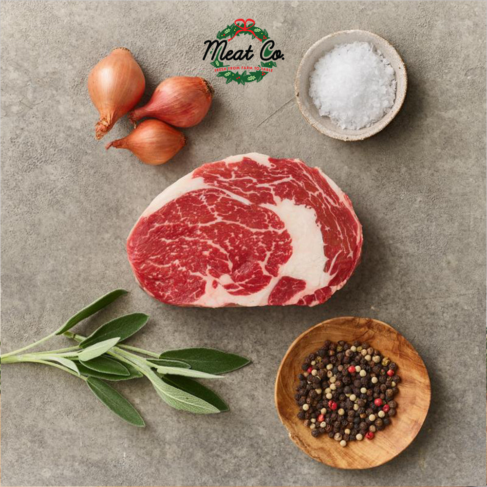 Barley Fed Free-Range Ribeye Steak MS4