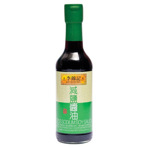 李锦记减盐酱油 LEE KUM KEE LESS SODIUM SOY SAUCE 16.9OZ