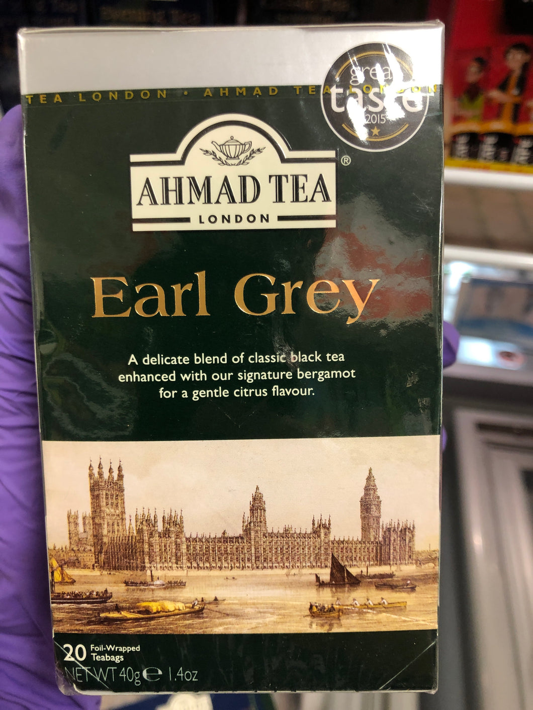 AHMAD EARL GREY TEA 20 BAGS