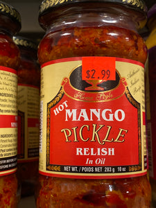 DEEP HOT MANGO PICKLE RELISH 10 OZ