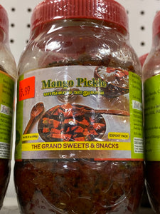 MANGO PICKLE 16 OZ