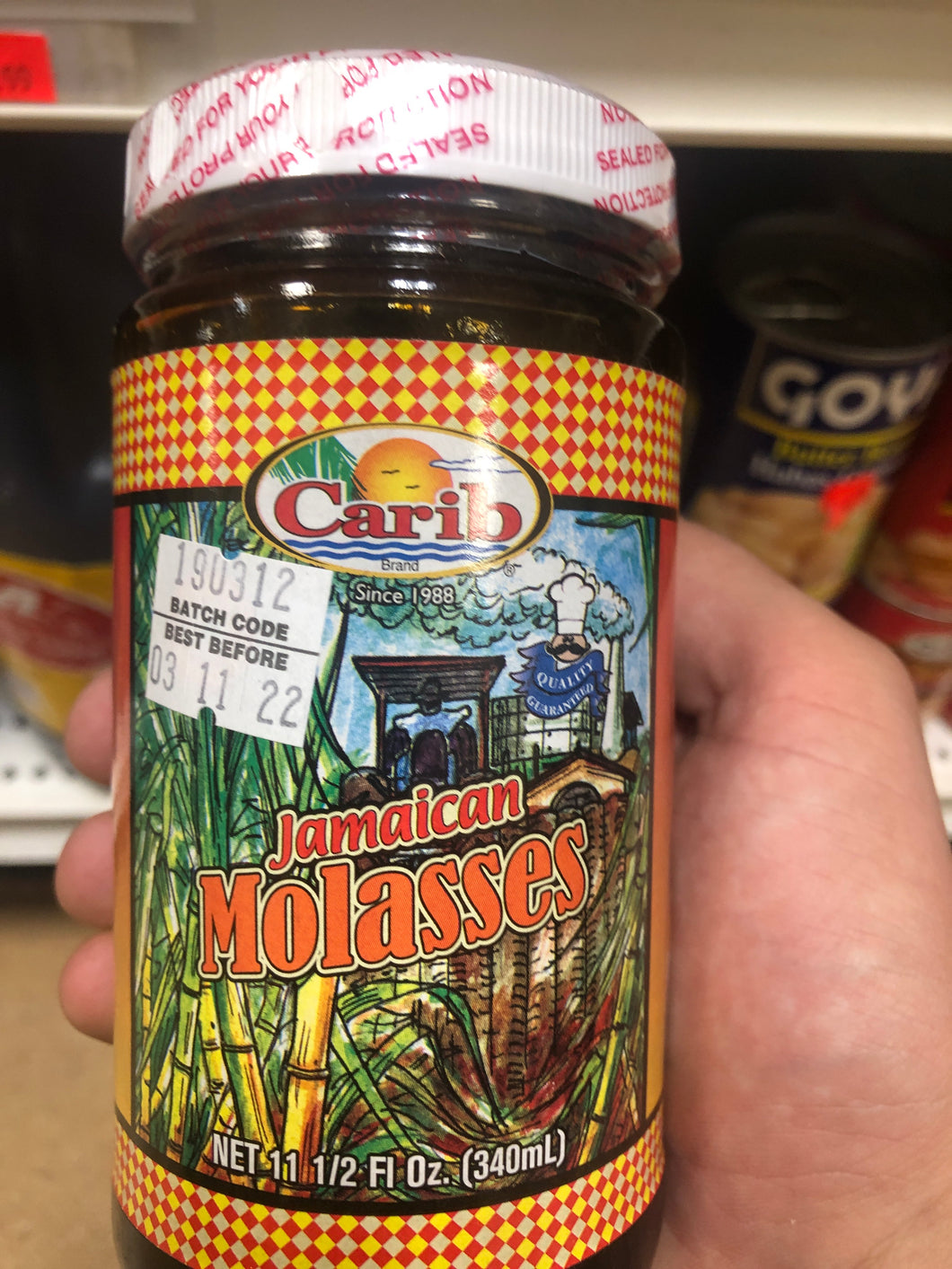 CARIB JAMAICAN MOLASSES