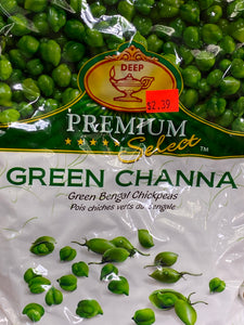 FROZEN DEEP GREEN CHANNA