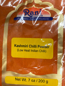 KASHMIRI CHILI POWDER 7 OZ