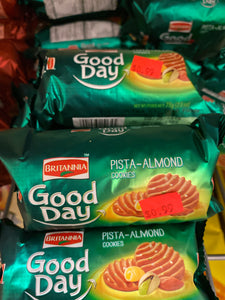 BRITANNIA GOOD DAY PISTA-ALMOND COOKIES 2.6 OZ