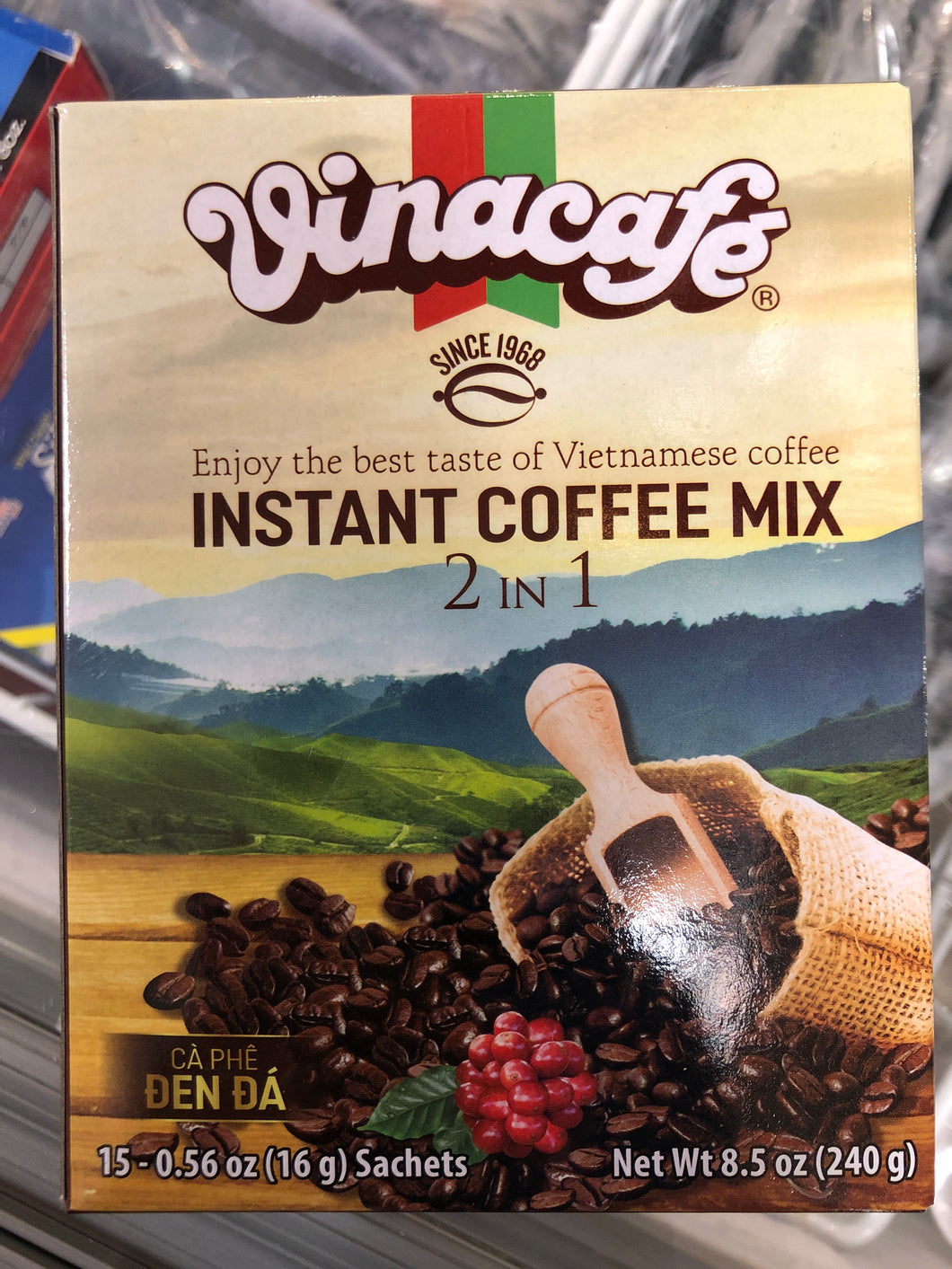 VINACAFE INSTANT COFFEE MIX 2 IN 1