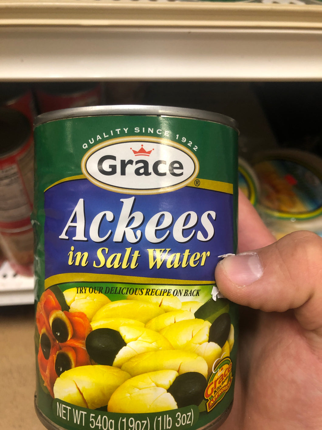 GRACE ACKEE (CANNED)