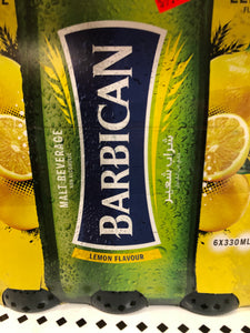 BARBICAN LEMON 6PK