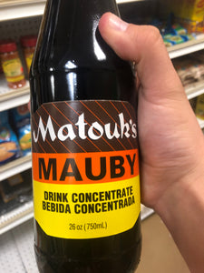 MATOUK'S MAUBY CONCENTRATE 26 OZ