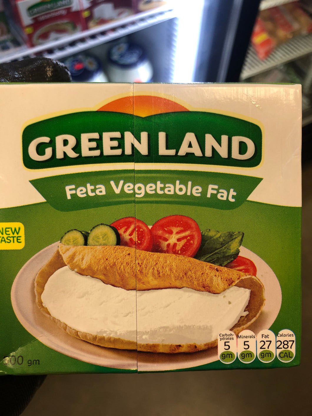 GREENLAND FETA CHEESE VEGETABLE FAT 500G