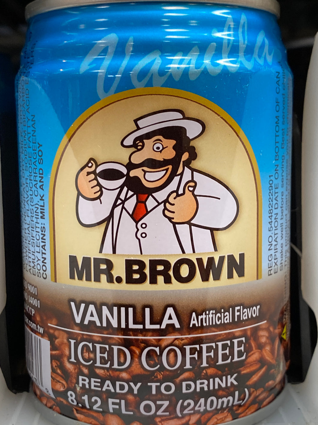MR. BROWN ICE VANILLA COFFEE