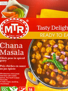 MTR READY TO EAT CHANA MASALA