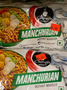 CHING'S MANCHURIAN INSTANT NOODLES