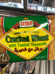 CRACKED WHEAT WITH TOASTED VERMICELLI 32OZ
