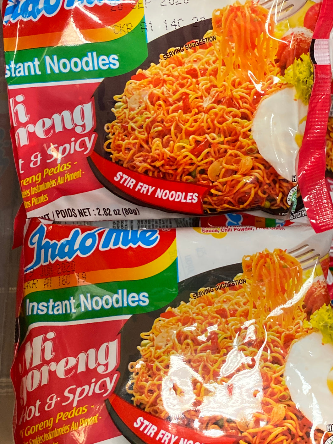 INDOMIE HOT & SPICY INSTANT NOODLE