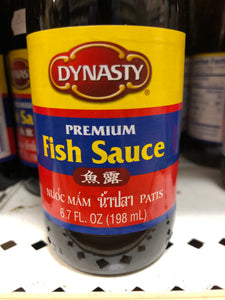 DYNASTY FISH SAUCE 6.7OZ