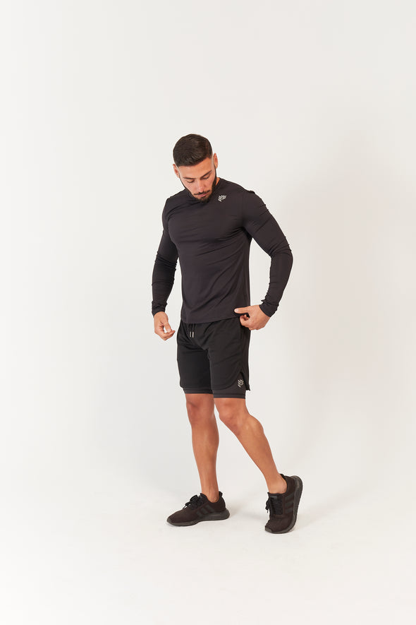 Engage 2 in 1 Layered Shorts